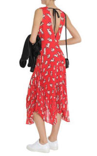 Markus Lupfer Red Midi Dress 3 Preview Images