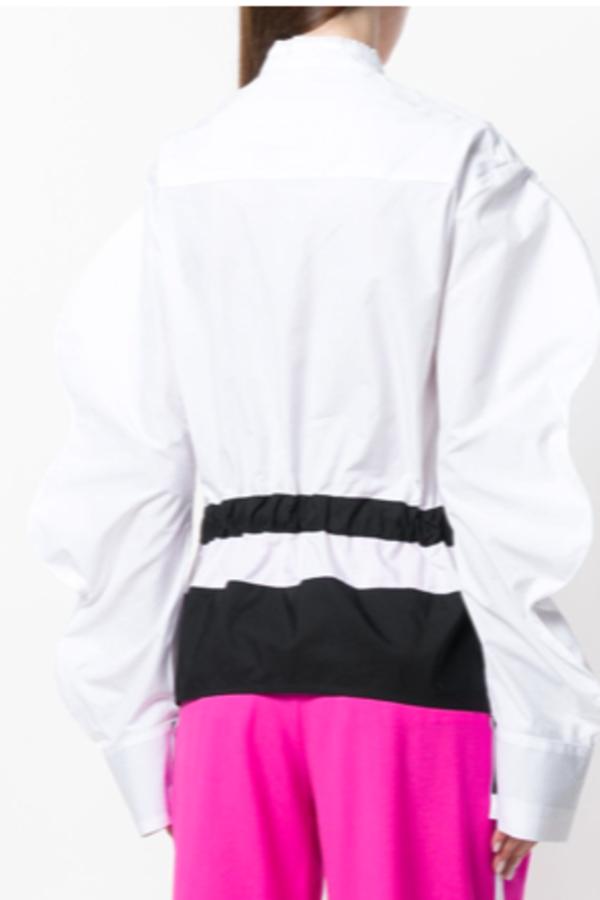 Eudon Choi Oversized sleeve shirt 3