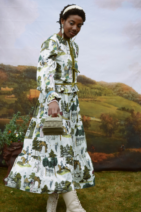 Olivia Annabelle Harriet Dress in Vauxhall  4