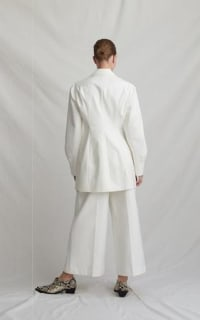 Rejina Pyo Maja ivory coat 2 Preview Images