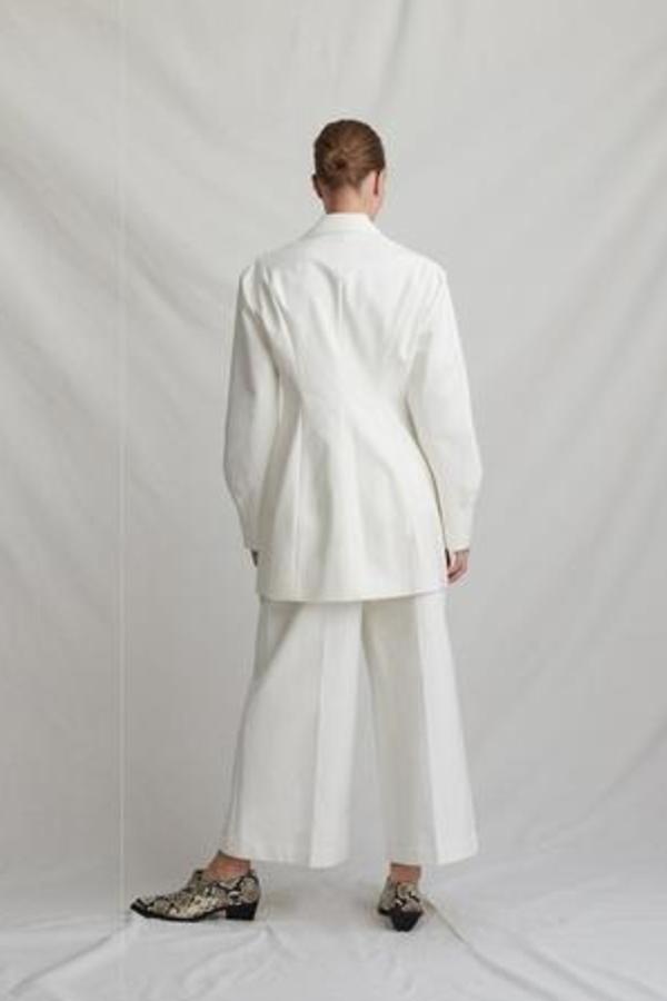 Rejina Pyo Maja ivory coat 2