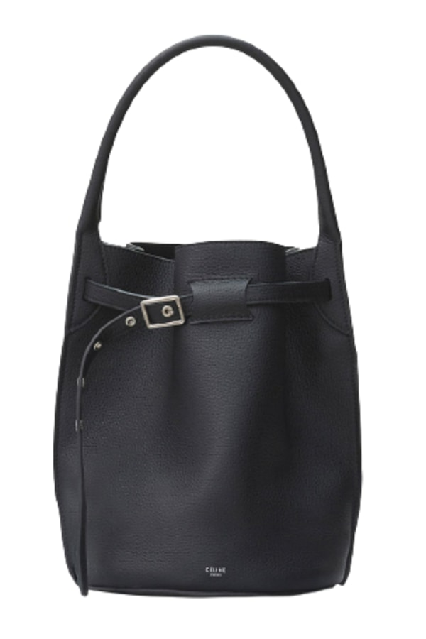 Image 1 of Celine black bucket bag
