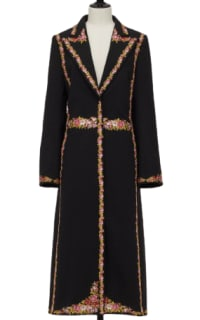 GIAMBATTISTA VALLI x H&M Long Jacket with Florals Preview Images