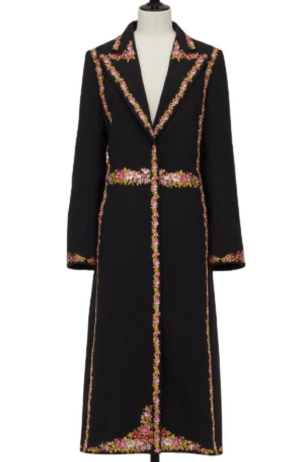 GIAMBATTISTA VALLI x H&M Long Jacket with Florals