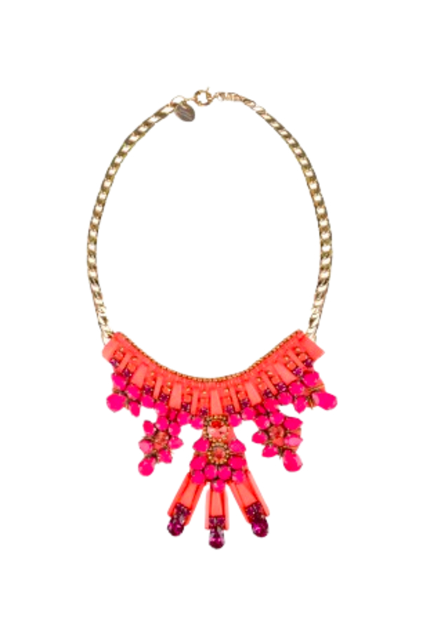 Matthew Williamson Clustered Jewel necklace