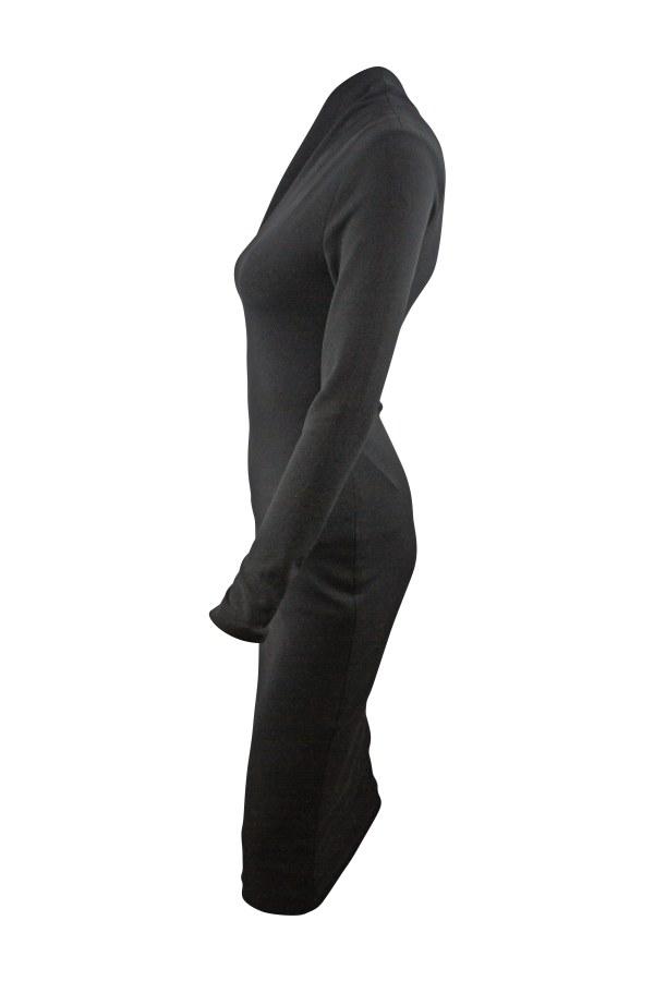 Image 4 of Solace London ambre one-shoulder midi dress