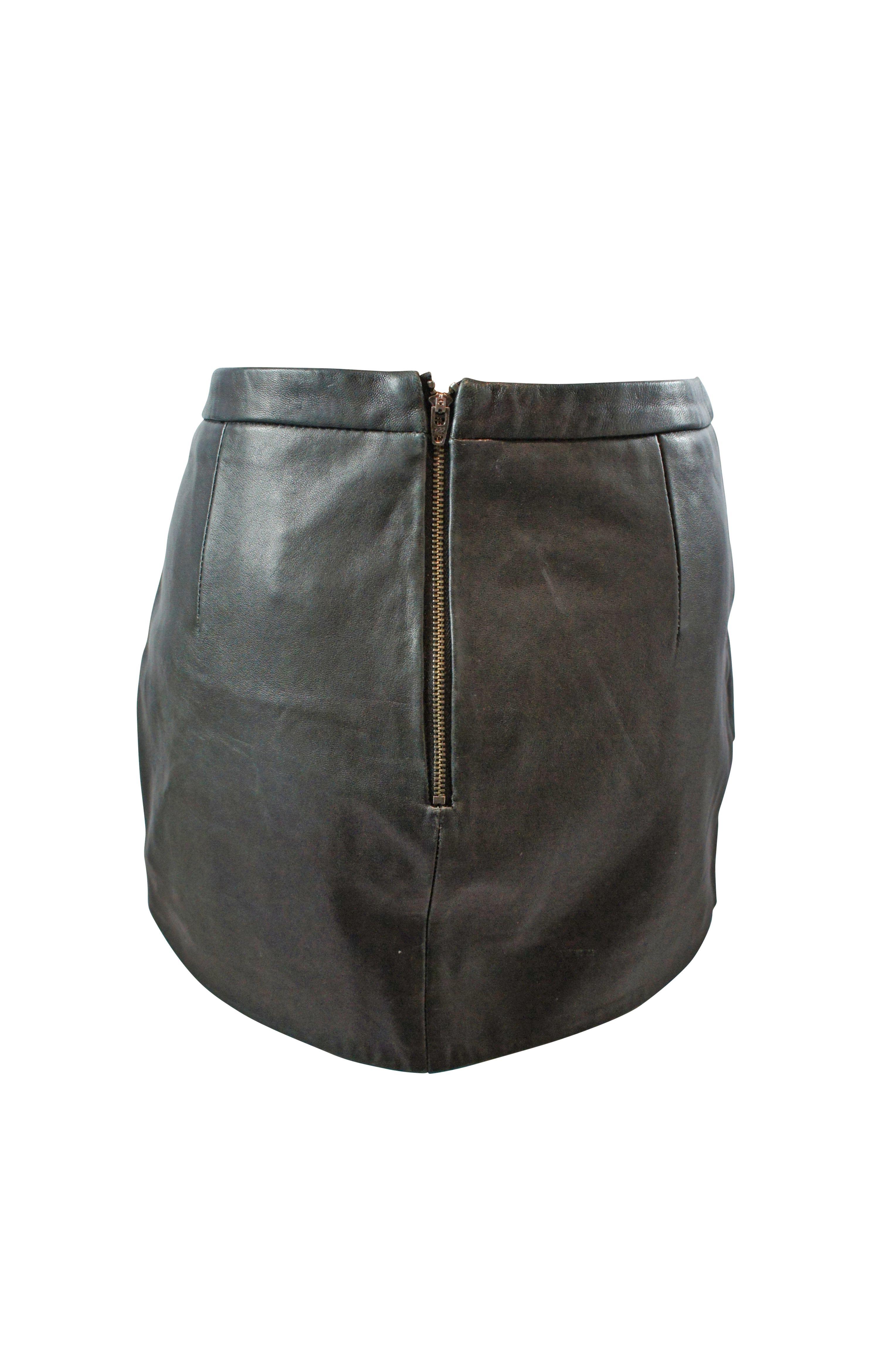 Michelle Mason Asymmetric Mini Skirt 2 Preview Images