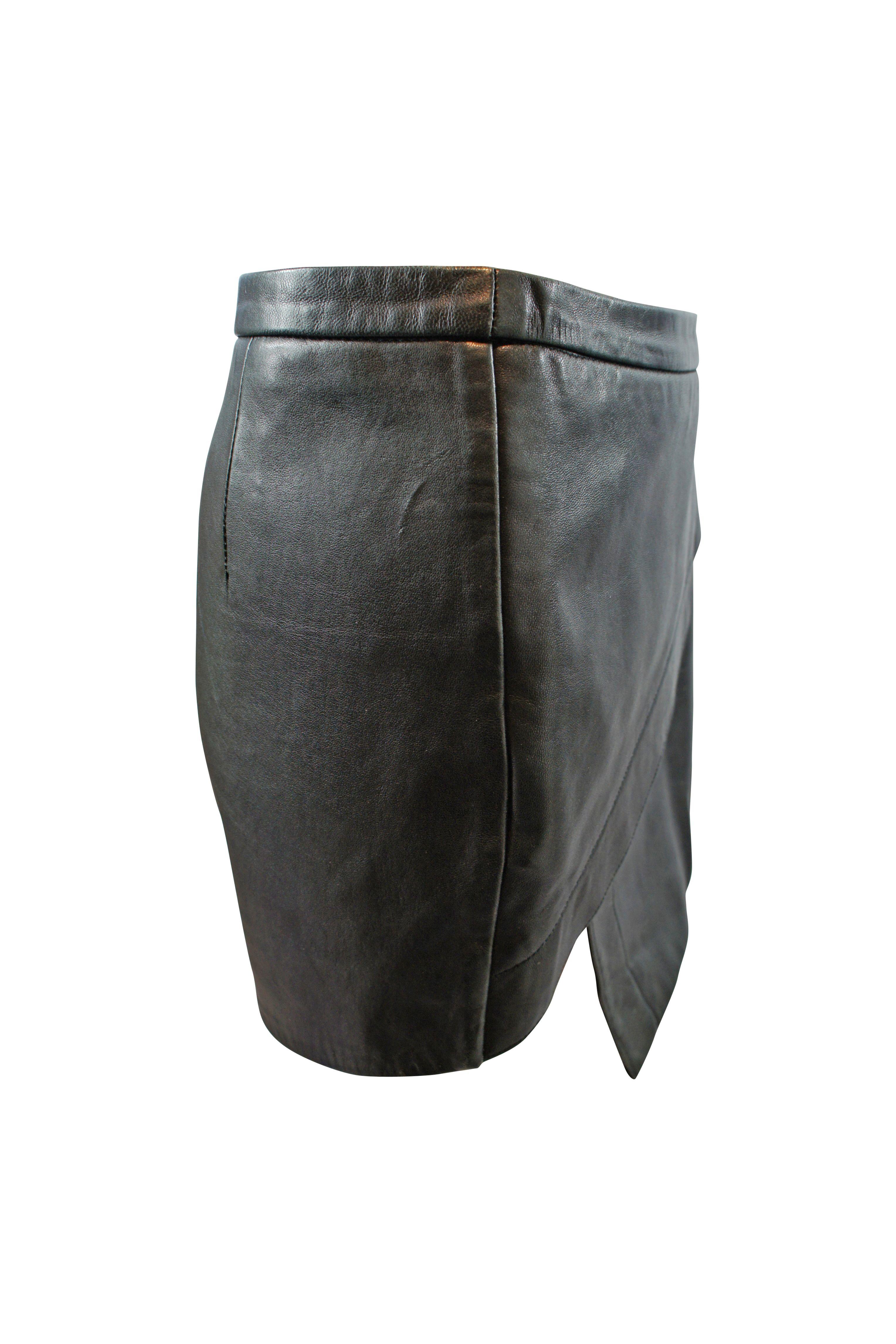Michelle Mason Asymmetric Mini Skirt Preview Images