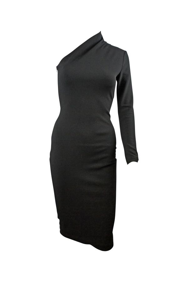Solace London Ambre One-Shoulder Midi Dress 3
