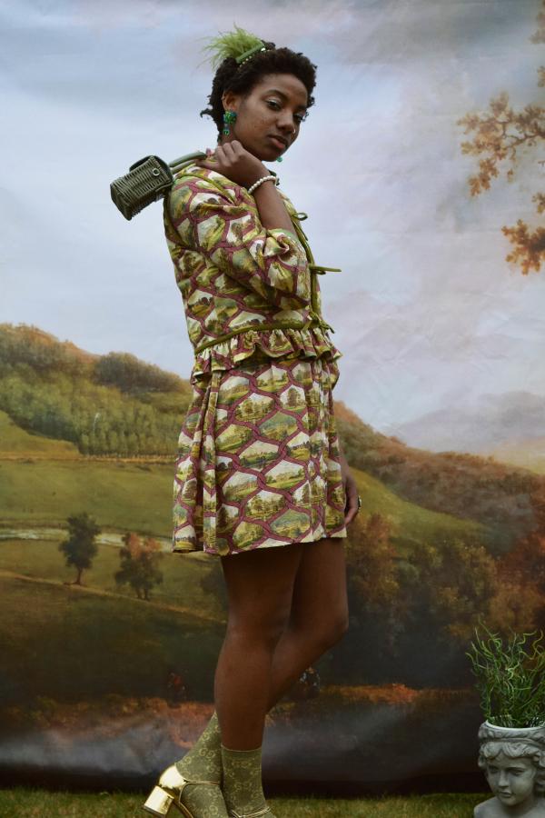 Olivia Annabelle Lizzie Reversible Waistcoat 4