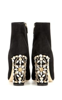 Dolce & Gabbana Embellished ankle boots 2 Preview Images