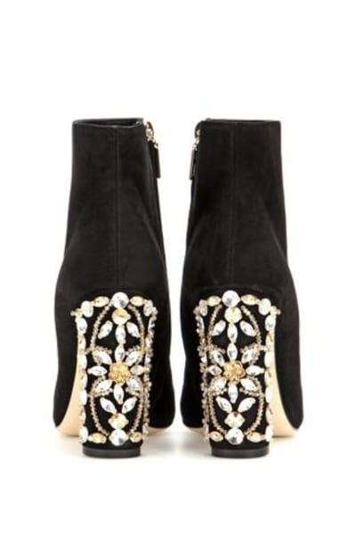 Dolce & Gabbana Embellished ankle boots 2