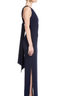 Whistles Tie Back Maxi Dress 4 Preview Images