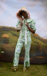 Olivia Annabelle Bennet Jacket in Garden Print 3 Preview Images