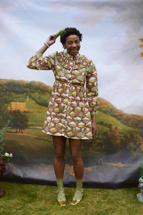 Olivia Annabelle Kitty Dress in County Seats 1 Preview Images