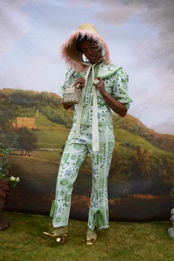 Olivia Annabelle Bennet Jacket in Garden Print 3