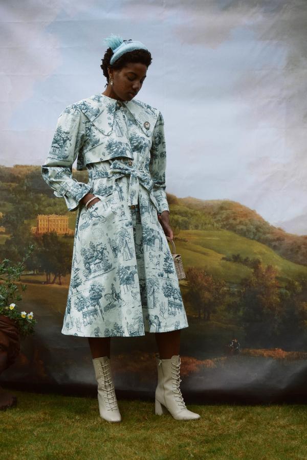 Olivia Annabelle Knightley Coat in Vauxhall 3