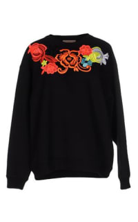 Christopher Kane Floral Embroidered Sweatshirt Preview Images