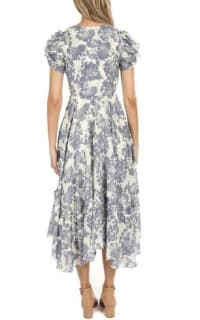 LoveShackFancy Andie Floral Midi Dress 4 Preview Images