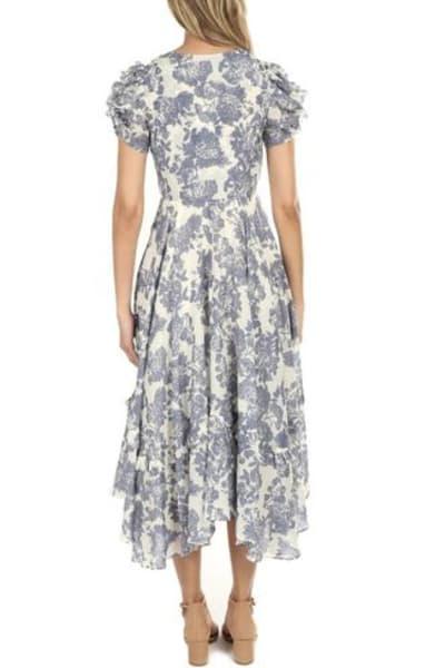 LoveShackFancy Andie Floral Midi Dress 4