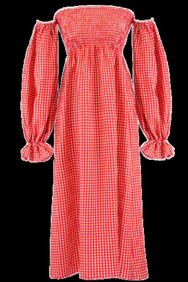 Image 1 of Sleeper atlanta linen dress