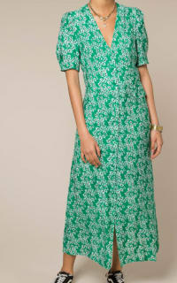 RIXO London Jackson floral-print crepe de chine midi dress Preview Images