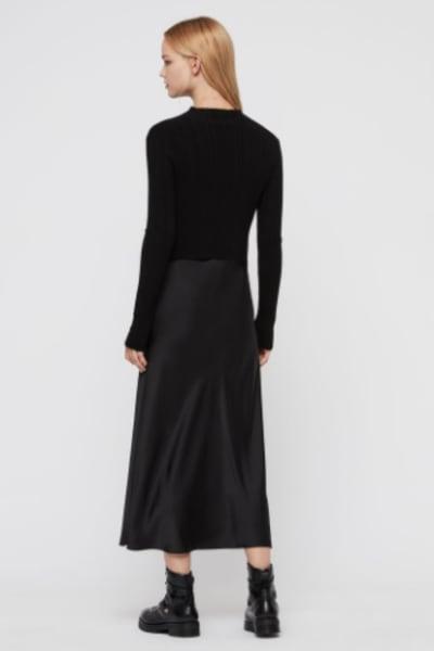 AllSaints Karla slip 2-in-1 dress 3