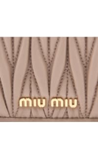 Miu Miu Matelasse Wallet On Chain 2 Preview Images