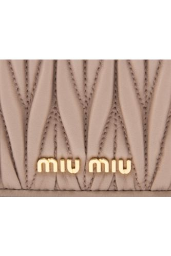Miu Miu Matelasse Wallet On Chain 2 Preview Images