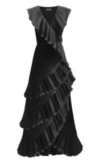 Georgia Hardinge Ayla Wrap Maxi Dress Preview Images