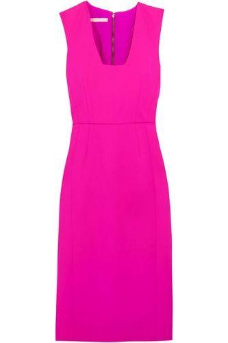 Antonio Berardi Neon Stretch-wool Dress Bright Pink 2 Preview Images