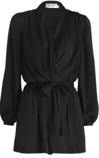 Zimmermann Silk Sueded Robe Jumpsuit Preview Images