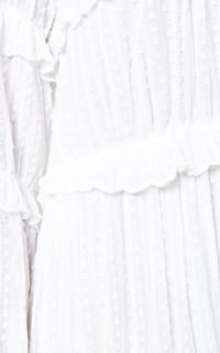 Isabel Marant Yukio tiered white dress  4 Preview Images