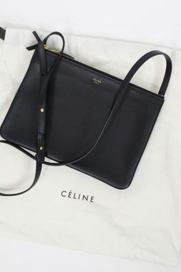 Celine Trio Bag - Smooth Lambskin 2