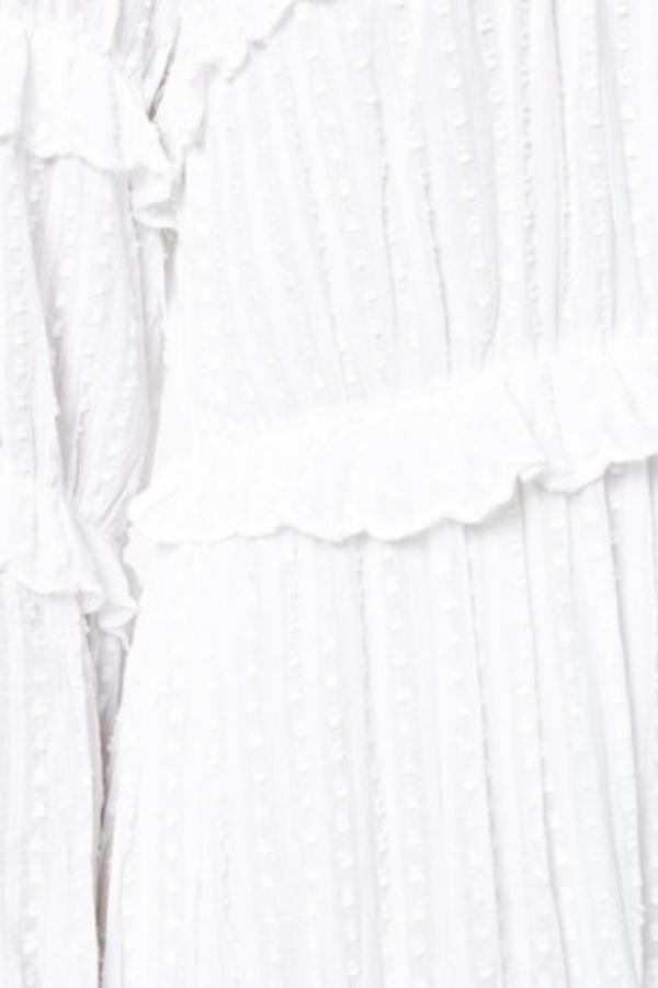 Isabel Marant Yukio tiered white dress  4
