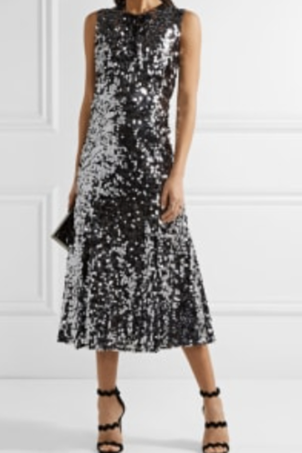 Dolce & Gabbana Sequin midi dress 1 Preview Images