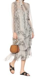 Zimmermann Corsage silk midi dress 2 Preview Images