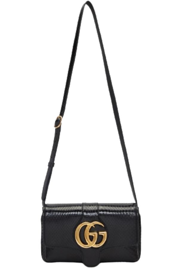 Image 1 of Gucci arli patent snakeskin bag