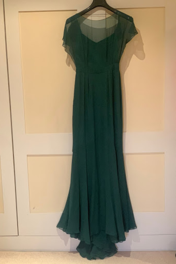Beulah London Evergreen gown 3