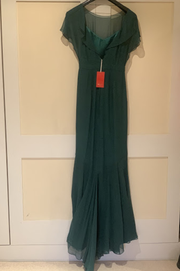 Beulah London Evergreen gown 4