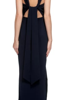 Whistles Tie Back Maxi Dress 2 Preview Images
