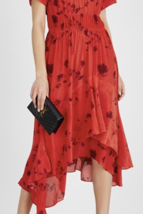 Preen by Thornton Bregazzi Esther printed satin dress 2