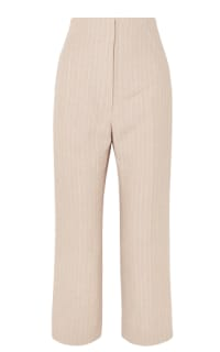 Racil Pinstriped linen trouser Preview Images