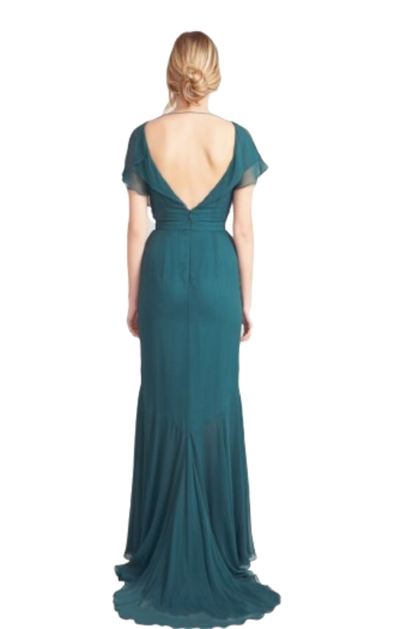 Beulah London Evergreen gown 6
