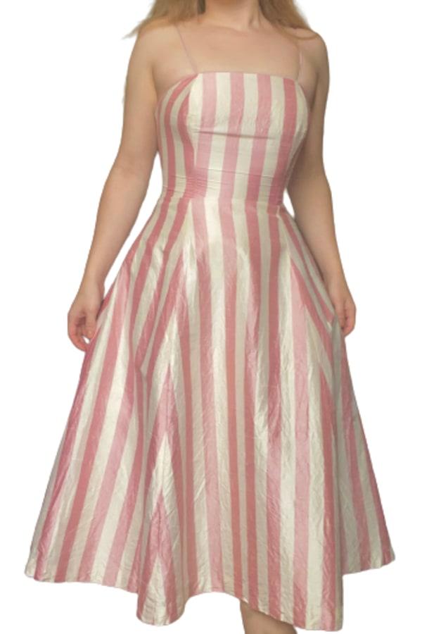 Image 1 of Vintage vintage 1950's striped dress