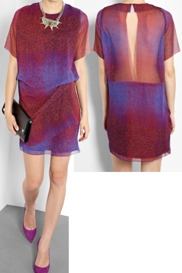 Acne Studios Mallory Noise dress  2
