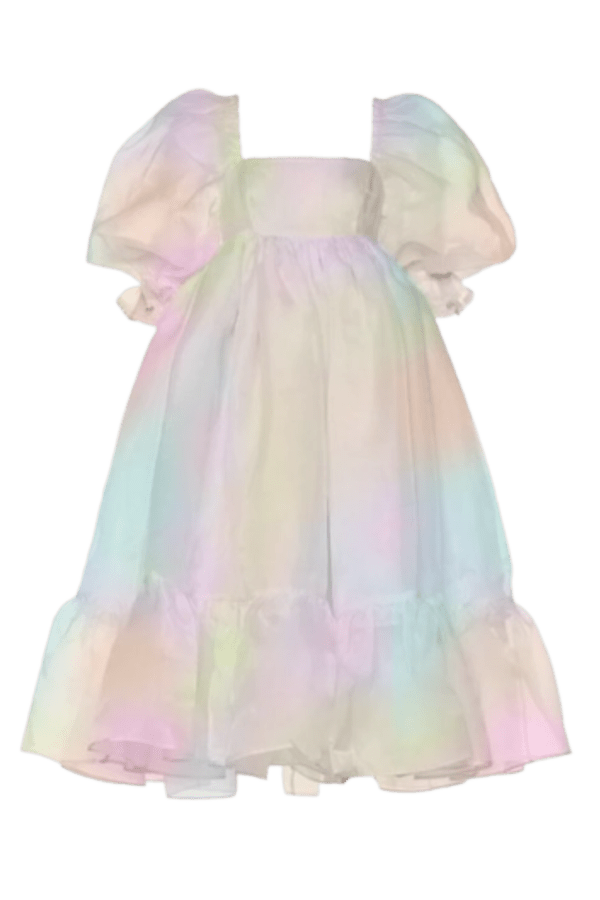 Image 1 of Selkie rainbow french puff dress