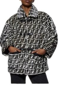 Fendi Logo printed jacket Preview Images