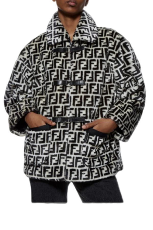Fendi Logo printed jacket