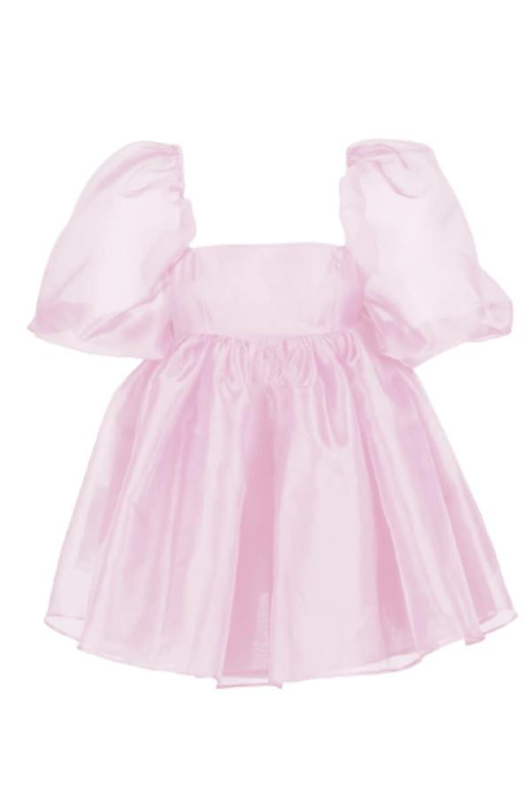 Selkie Pink Puff Mini Dress 0 Preview Images